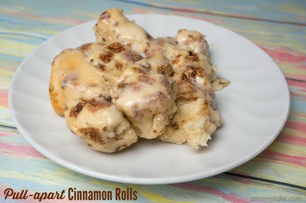 Pull-apart Cinnamon Rolls