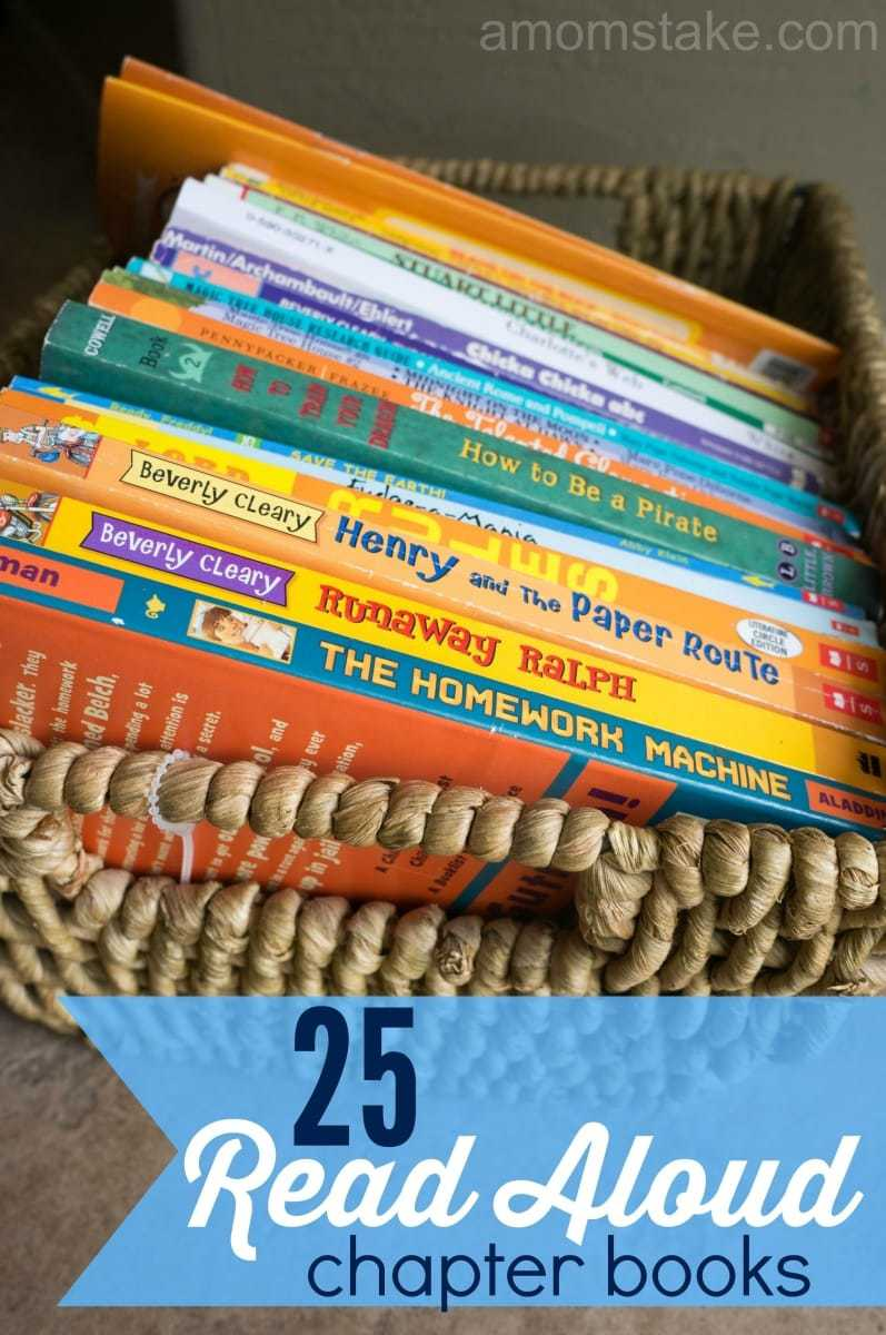 25 Read-Aloud Chapter Books