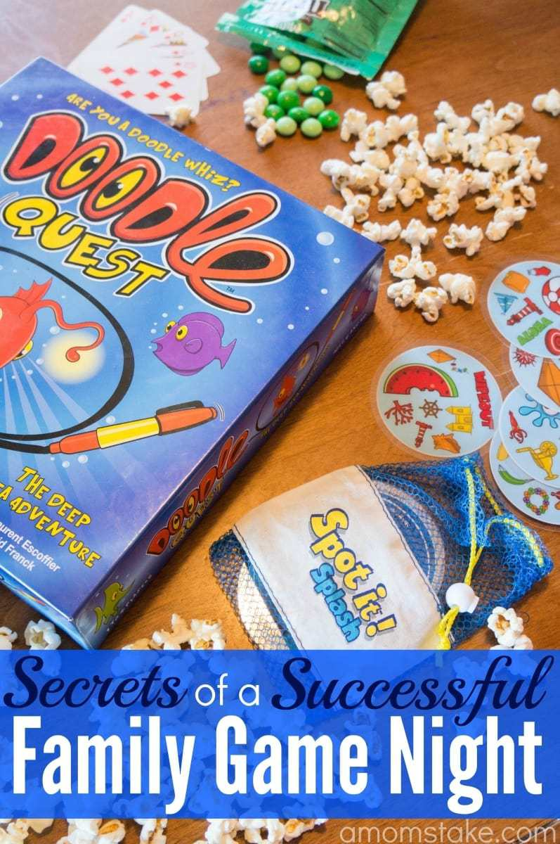 Secrets of a Successful Family Game Night
