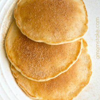 Maple-Cinnamon-Pancakes