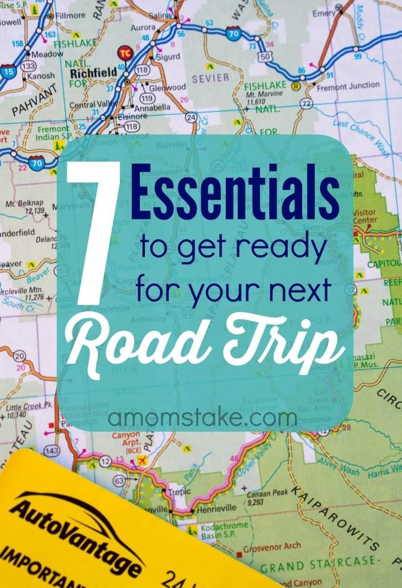 7 Road Trip Essentials