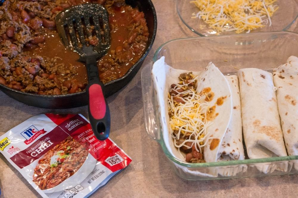 Chili Cheese Burritos Recipe