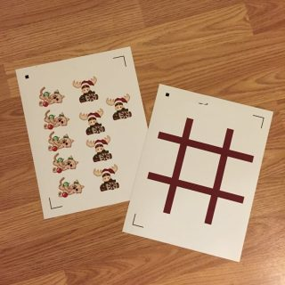 Silhouette Tic Tac Toe Set + Giveaway & Discount Code