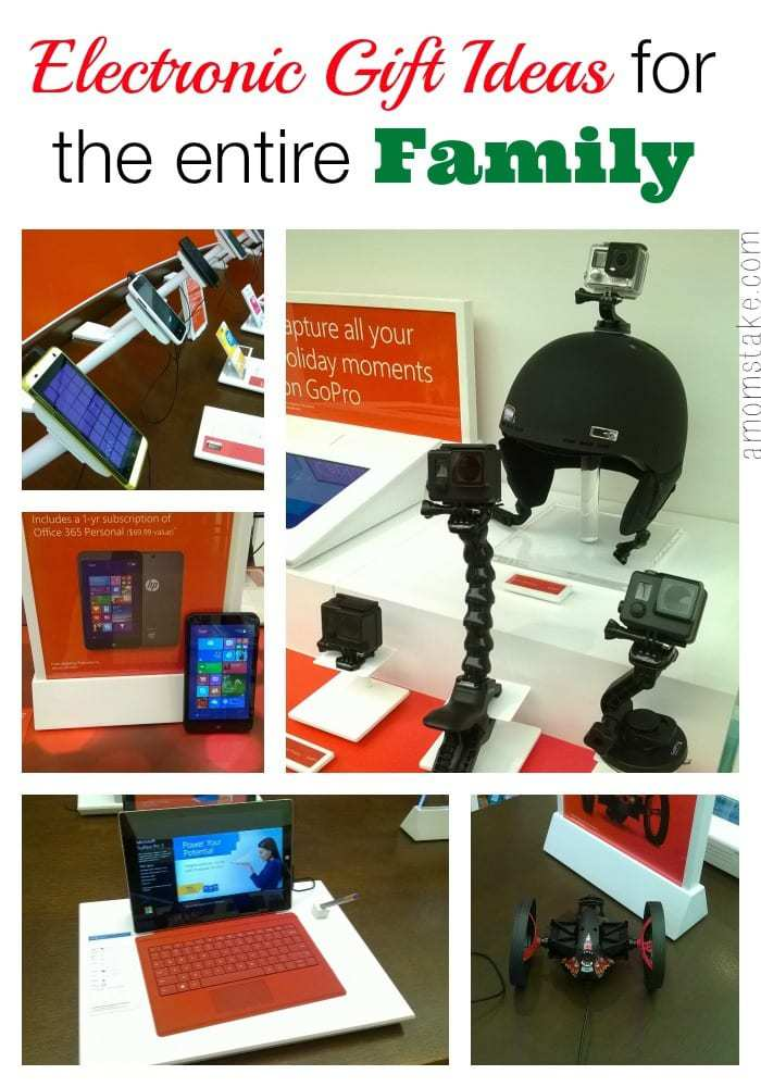 Electronic Gifts for the Entire Family