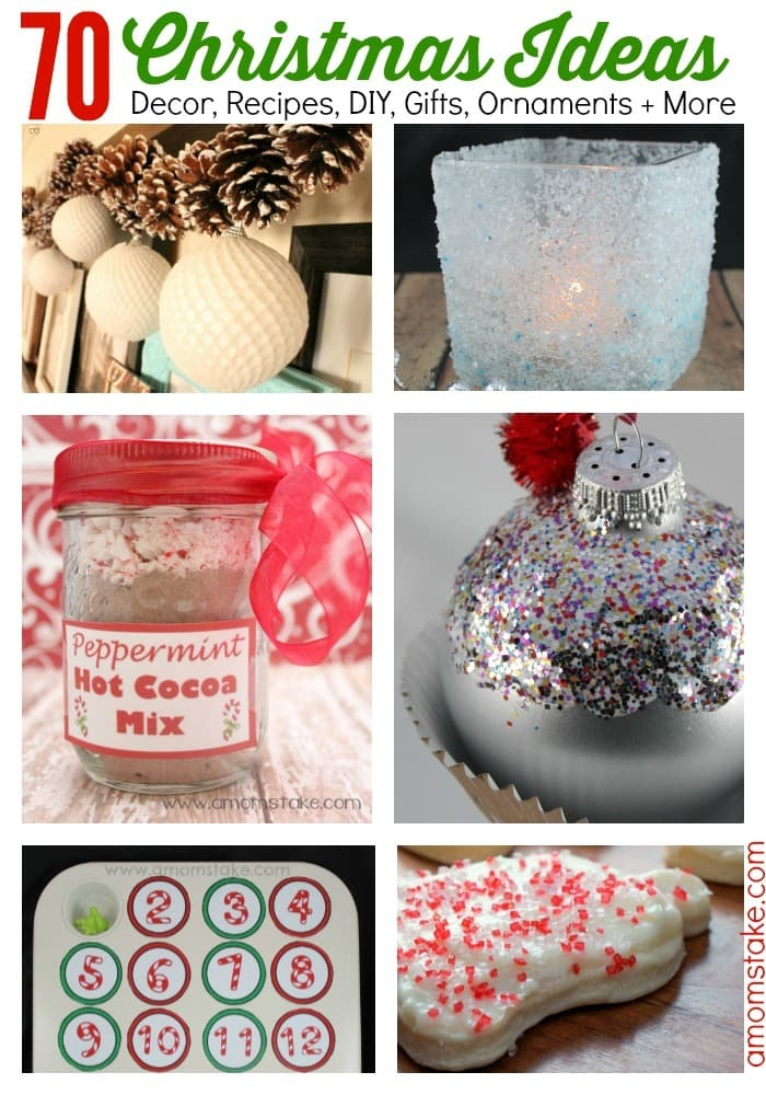 70 Christmas Ideas for the Holidays