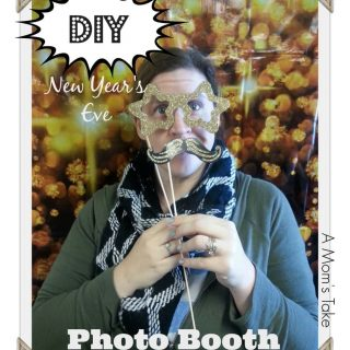 New Year's Eve DIY Photo Booth