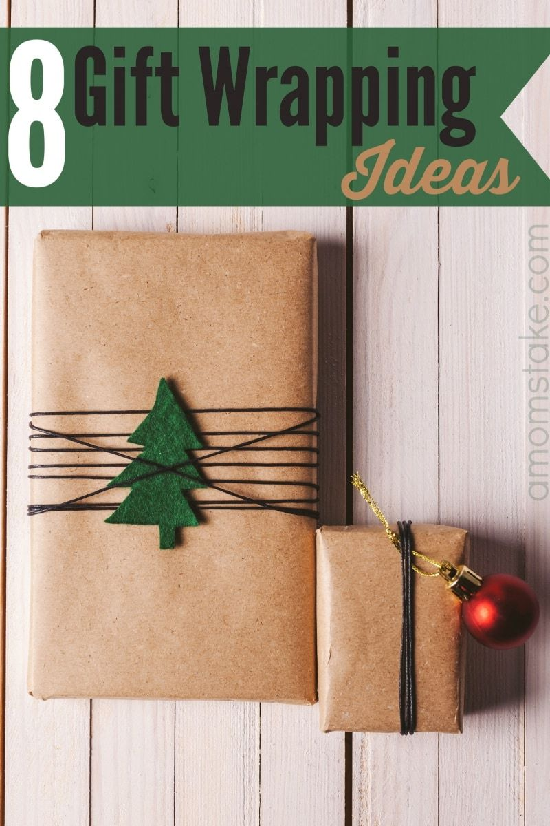 8 Unique Gift Wrapping Ideas