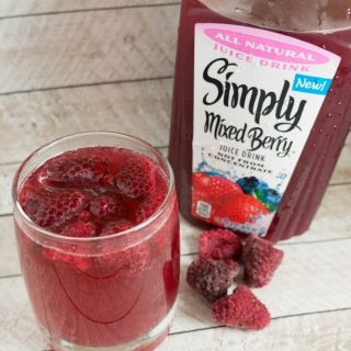 Simple Mixed Berry Punch Recipe