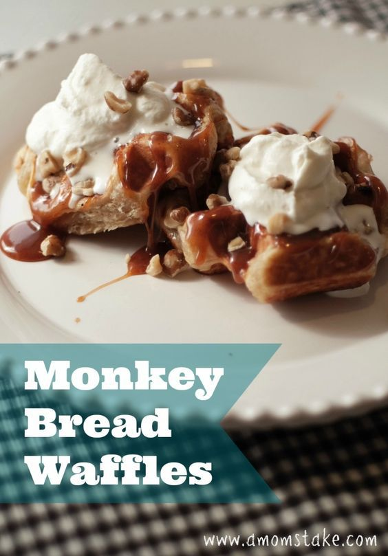 monkey bread waffles