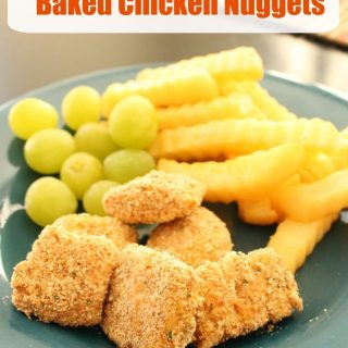 Easy Homemade Baked Chicken Nuggets