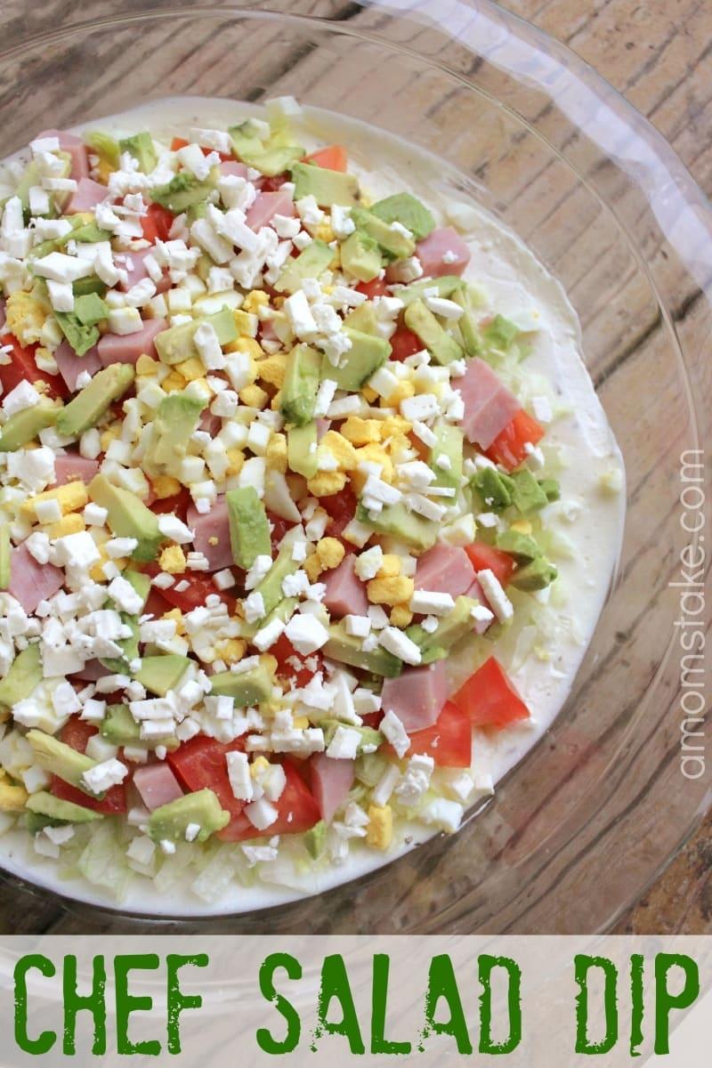 Chef Salad Dip Recipe