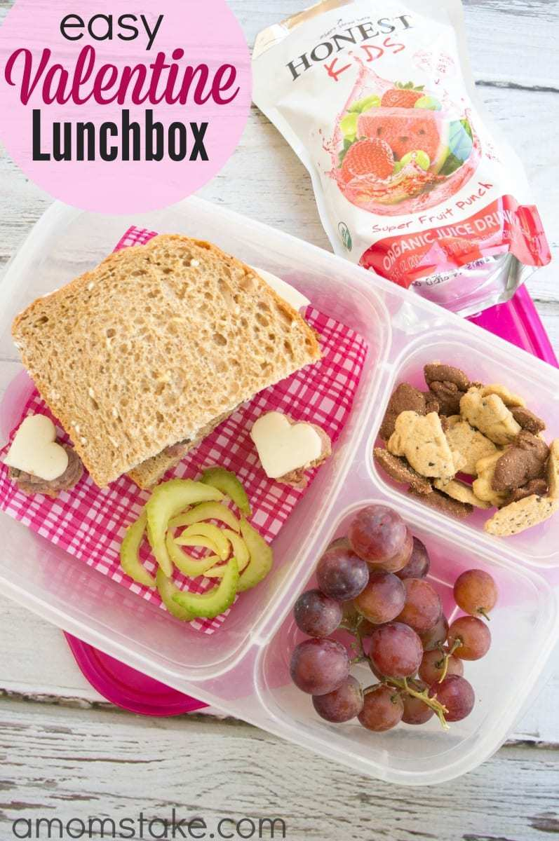 easy valentine lunchbox