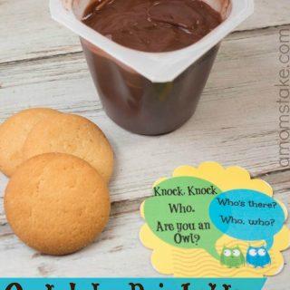 Owl Lunchbox Joke + Snack
