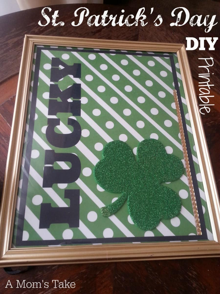 St. Patrick's Day DIY Printable