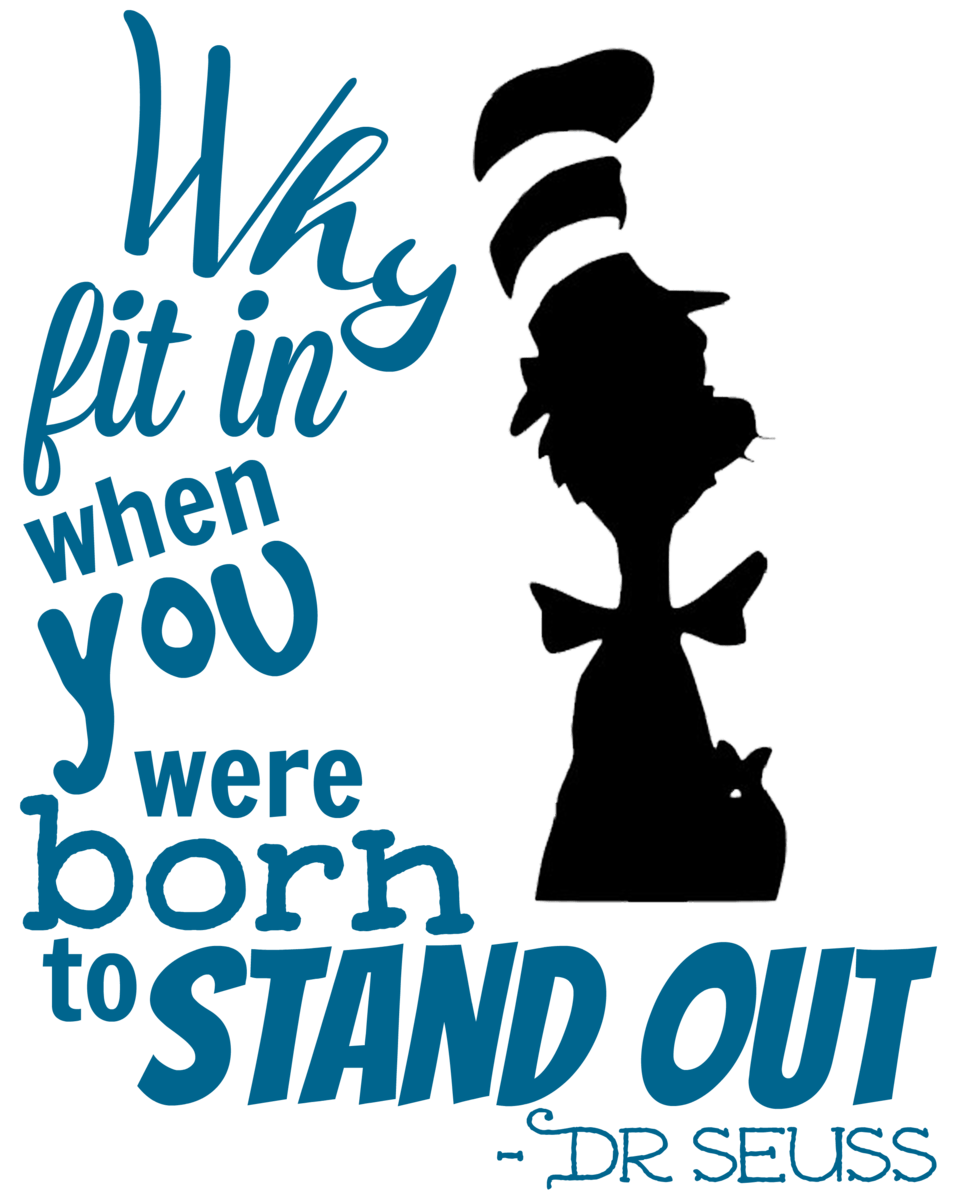 DIY Dr. Seuss Inspiration Quote Sign - A Mom's Take