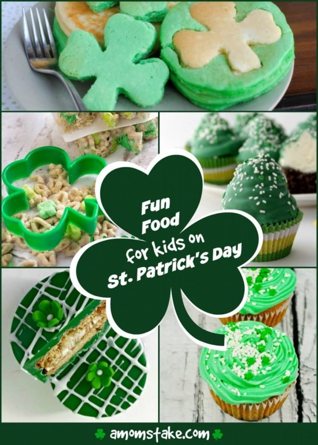 Fun Food for Kids on St Patricks Day