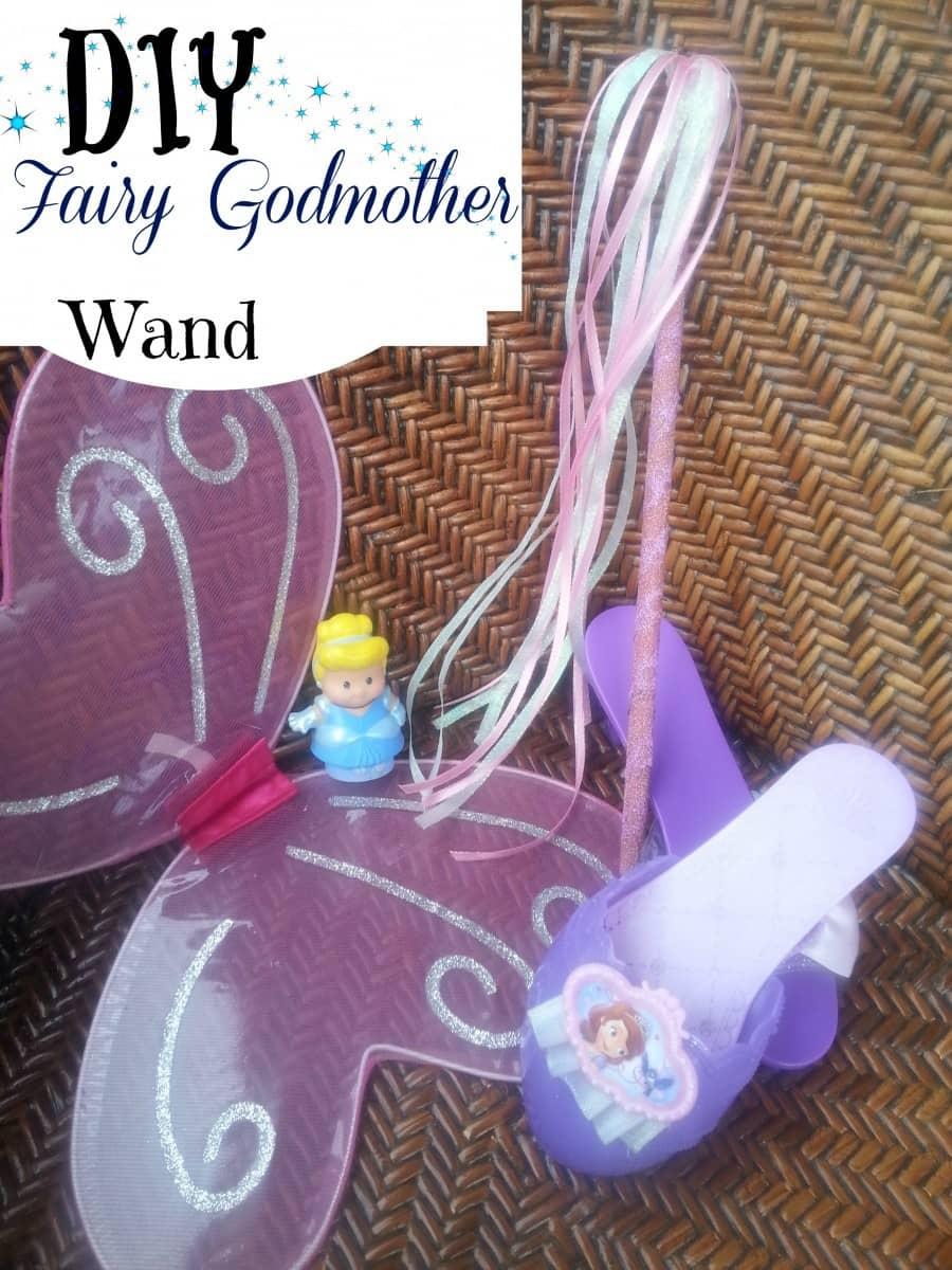 DIY Fairy Godmother Wand