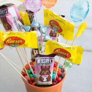 Easy Easter Bouquet Centerpiece