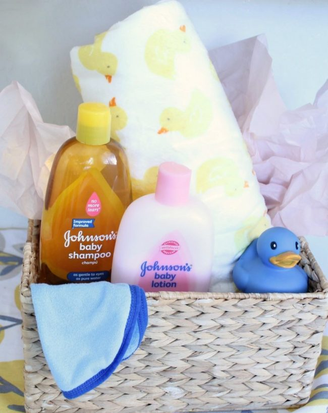 Creative easter basket ideas for baby a moms take bath time basket negle Image collections