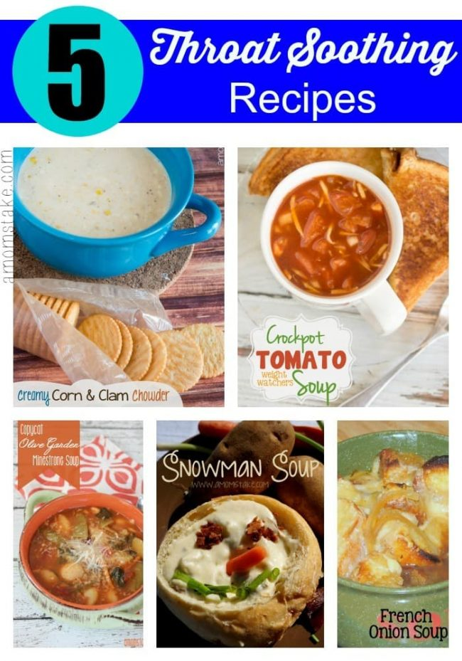 Throat Soothing Recipes