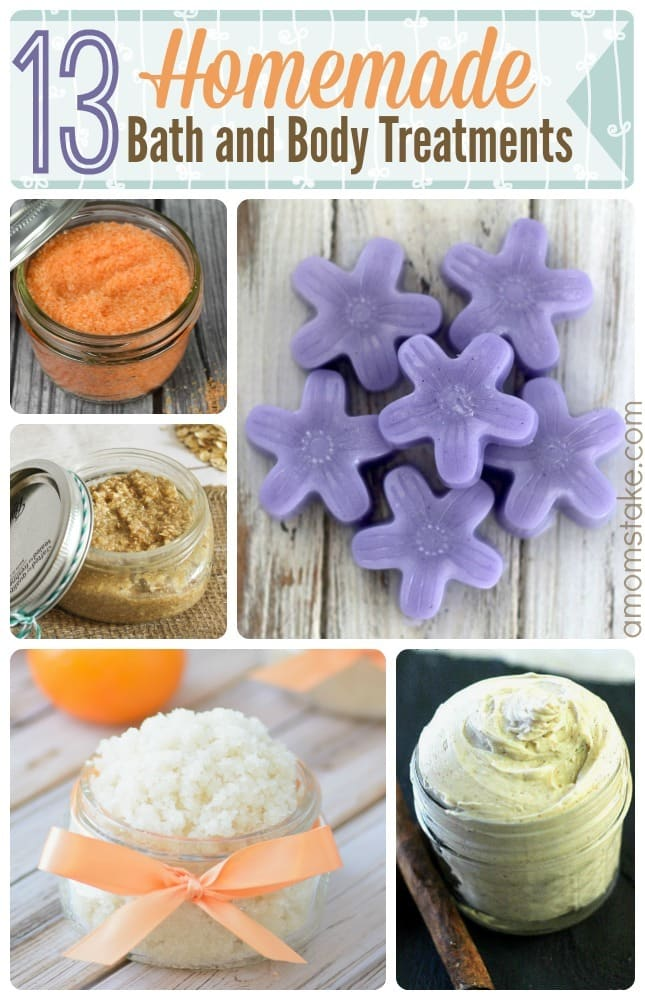 Homemade Bath Treatments
