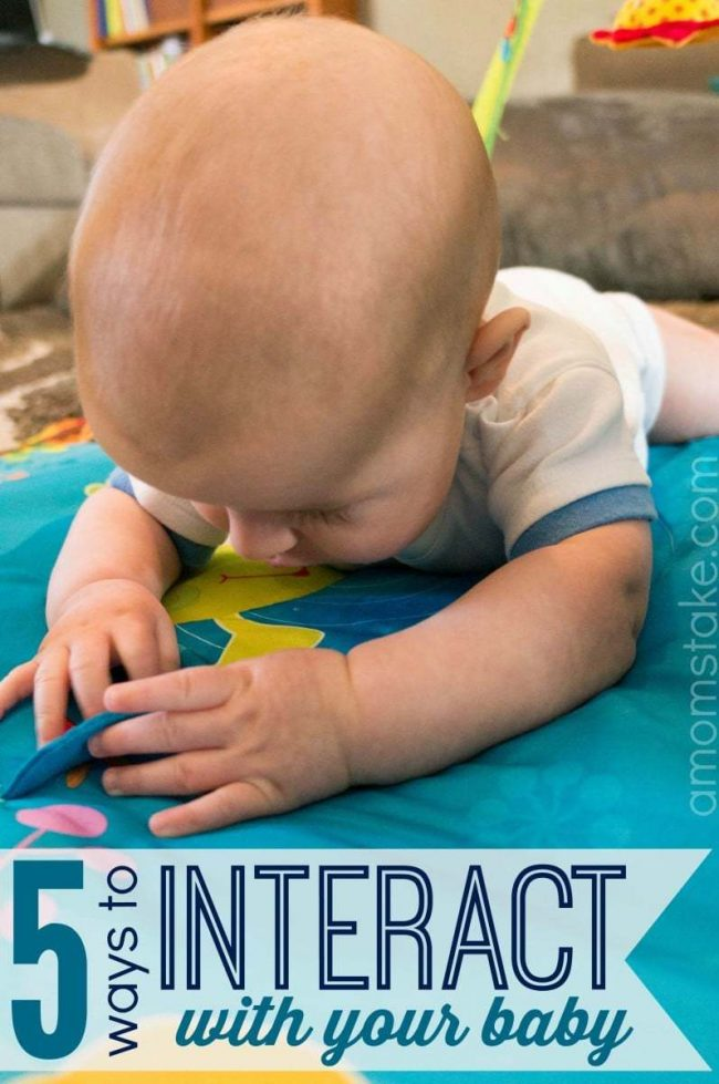 5 ways to interact with your baby