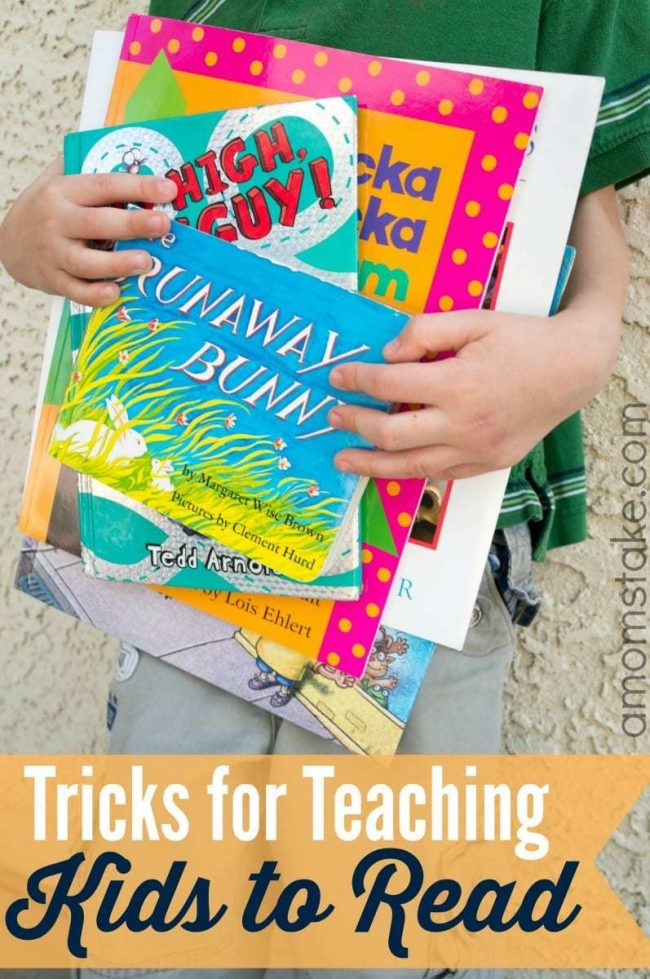 Tricks for Teaching Kids to Read