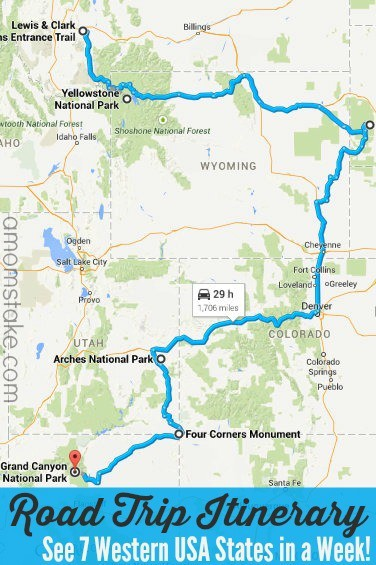 7 Western States Road Trip Itinerary A Mom S Take