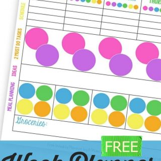 Weekly Calendar Planner Printable