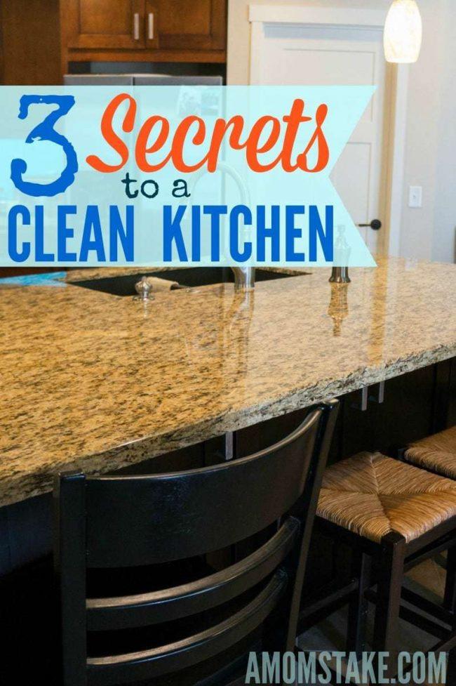 Clean Kitchen secrets
