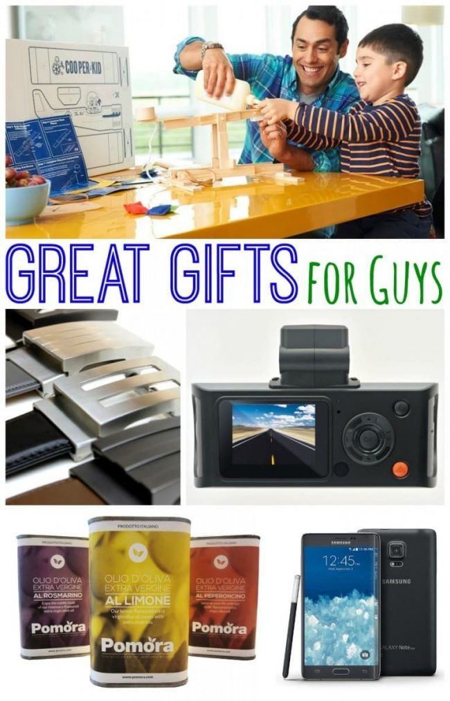 Great gifts for guys