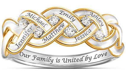 Strength Of Family Diamond Ring