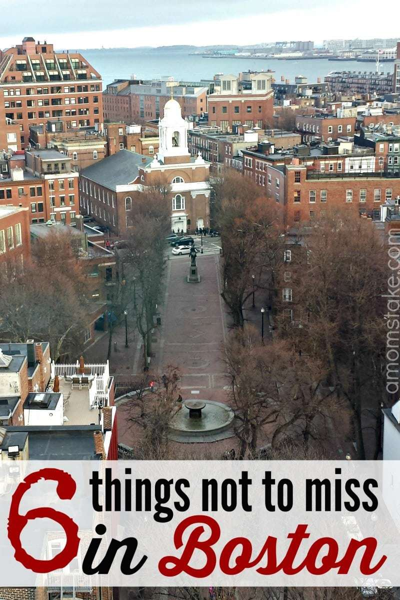 6 things not to miss in Boston - a travel guide with things to do while visiting Boston, Massachusetts. #travel #vacation #boston