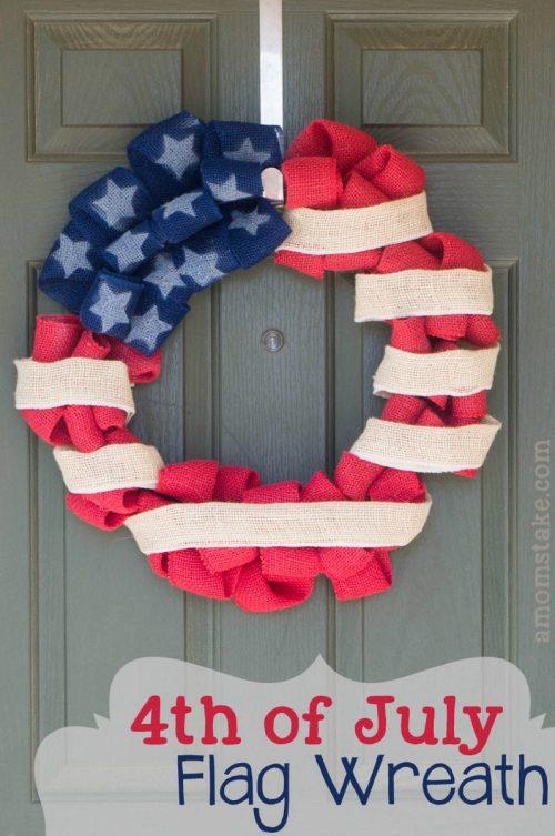 Patriotic DIY Wreath
