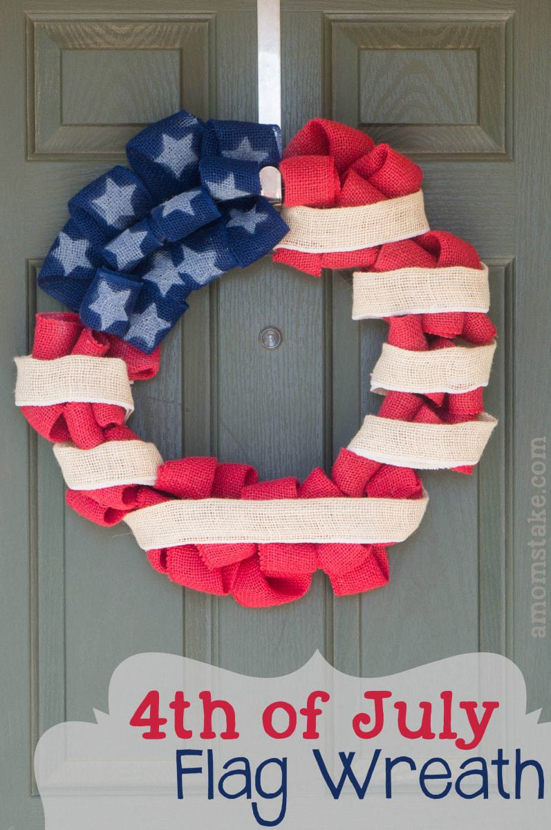 Patriotic DIY Wreath