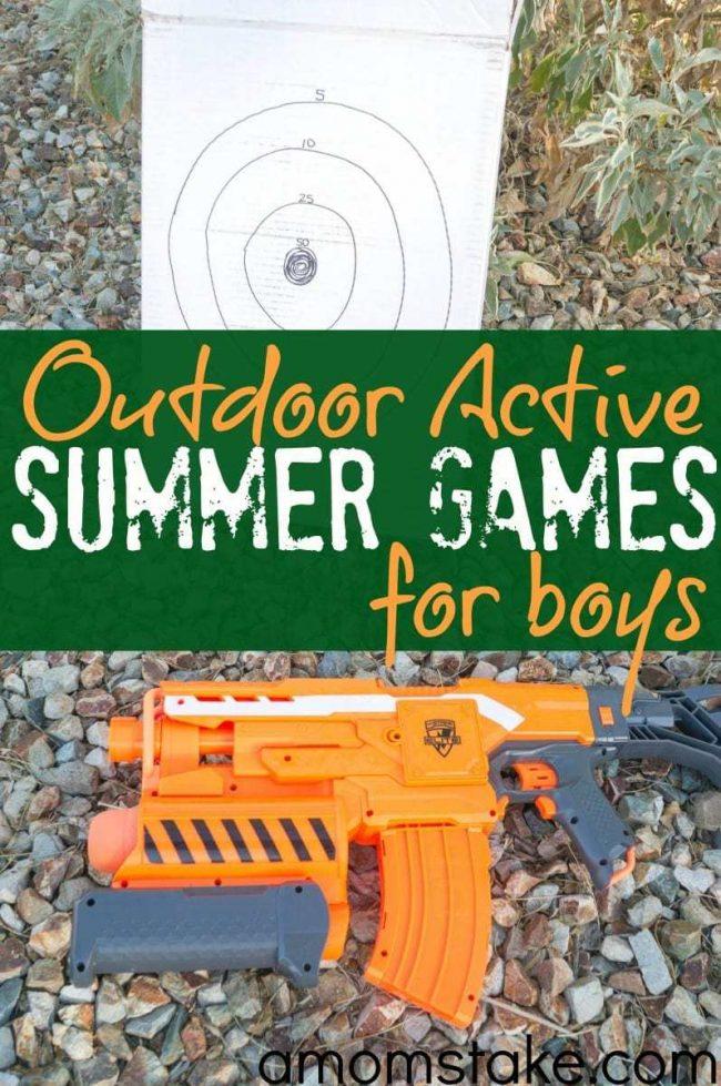 Outdoor Summer Games