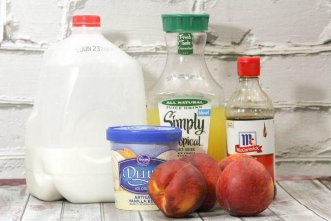 Peach milkshake_-2
