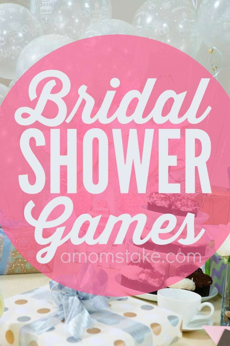 Fun Bridal Shower Games A Mom S Take