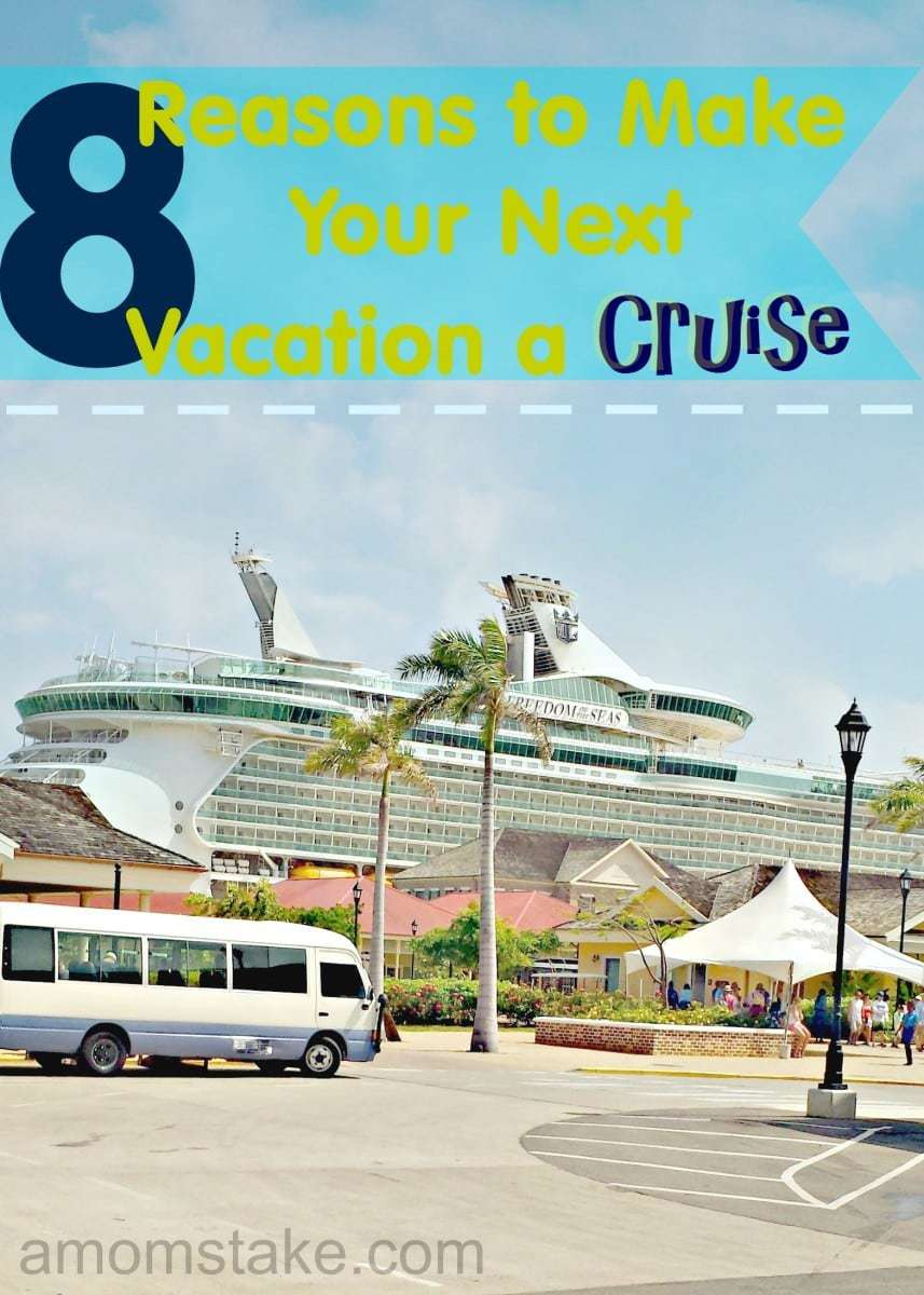 Why you should plan a cruise for your next vacation! What to expect and what you'll love best when you go cruising. #travel #vacation #cruise #crusing