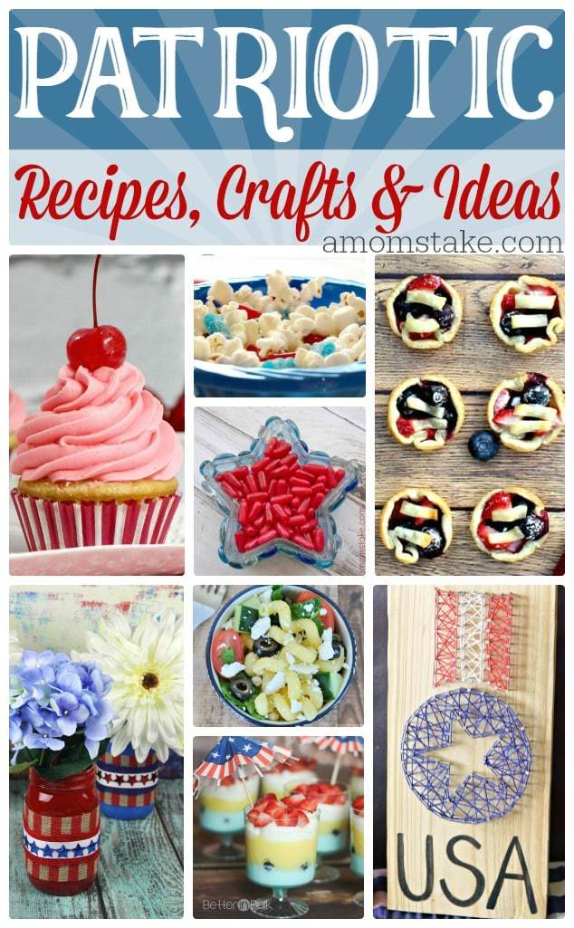 Patriotic crafts, diy and recipes