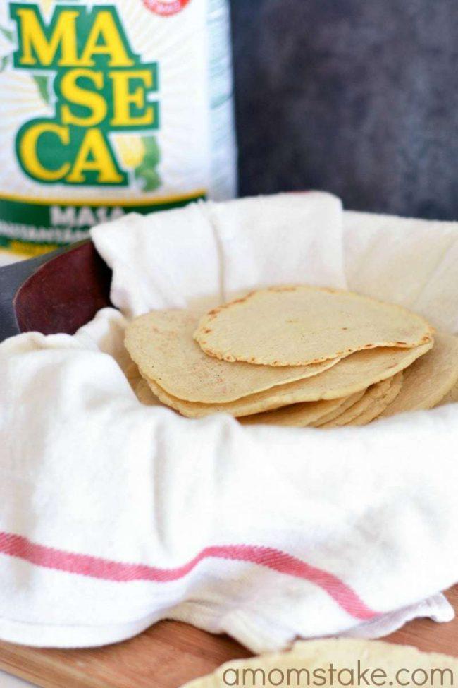 Homemade Corn Tortillas Recipe