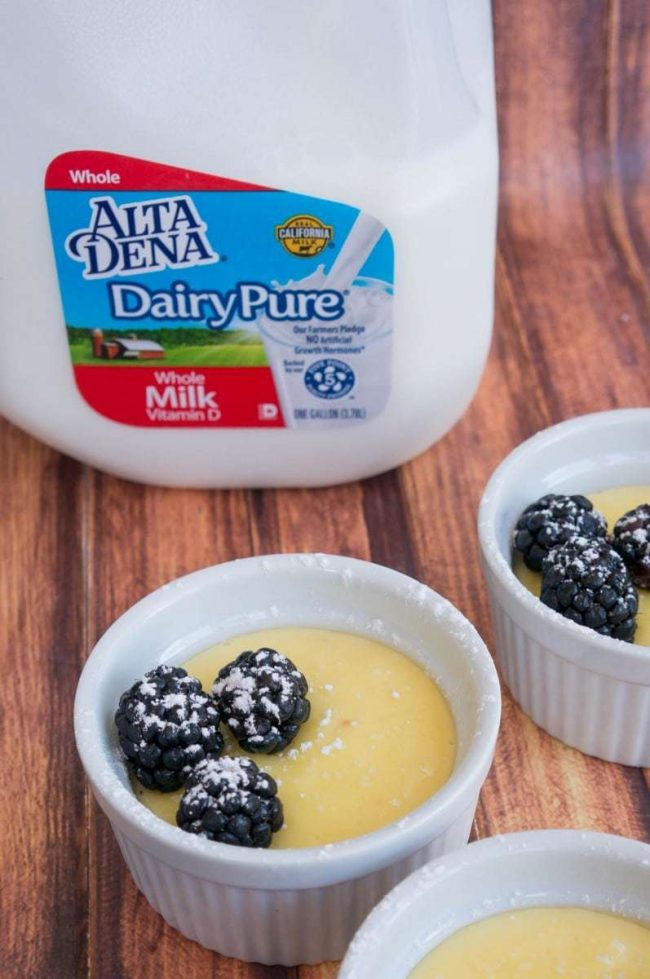 No Bake Vanilla Custard