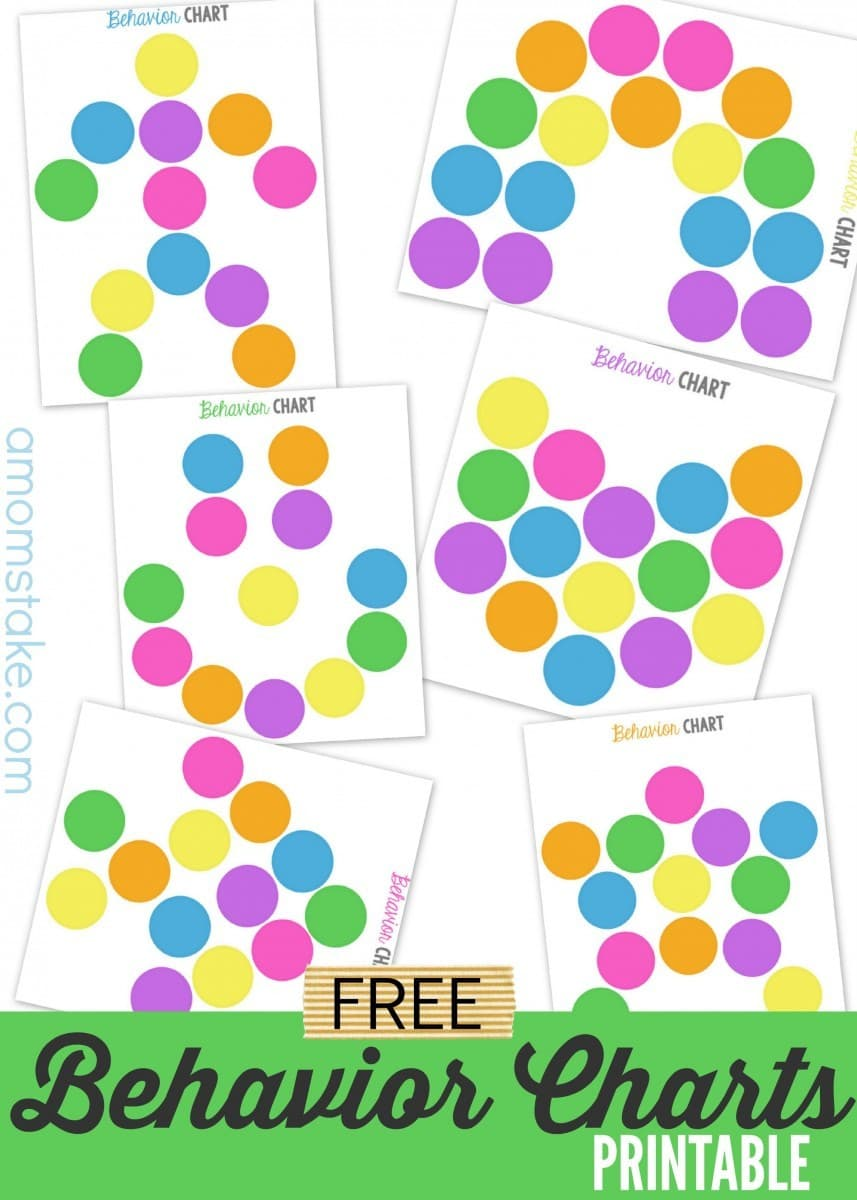 It is an image of Punchy Free Printable Behavior Charts Com