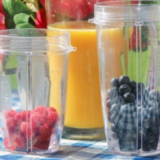 Layered Berry Smoothie Recipe