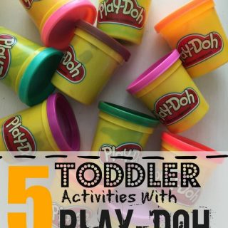 5 Play-Doh Activities for Toddlers
