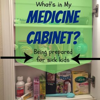 Being Prepared For Sick Kids