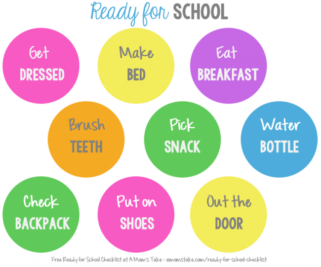 ready-for-school-chart