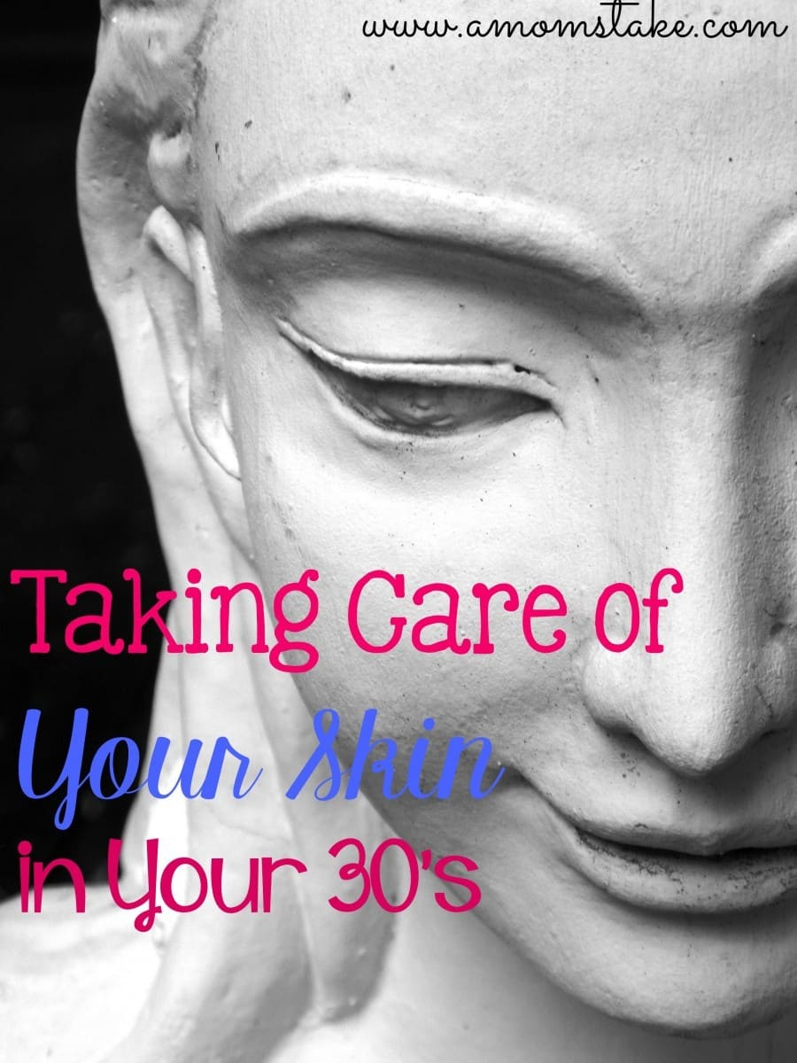 taking care of your skin in your thirties
