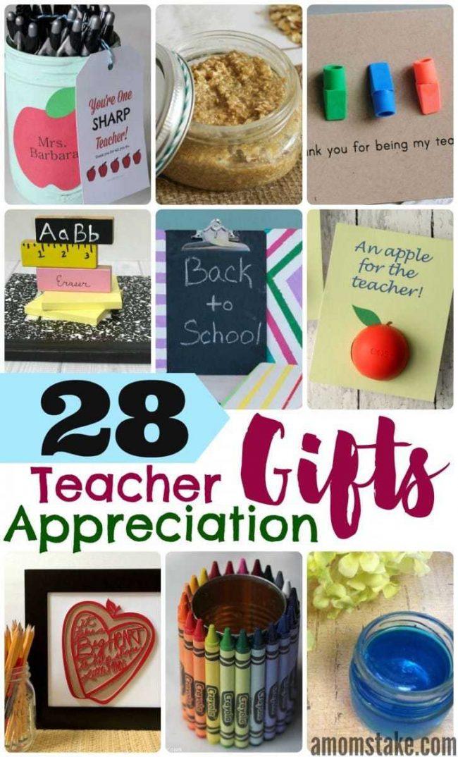 25 Teacher Appreciation Gifts