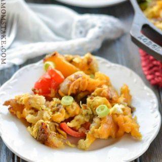 Sausage, Potatoes & Eggs Breakfast Skillet Recipe